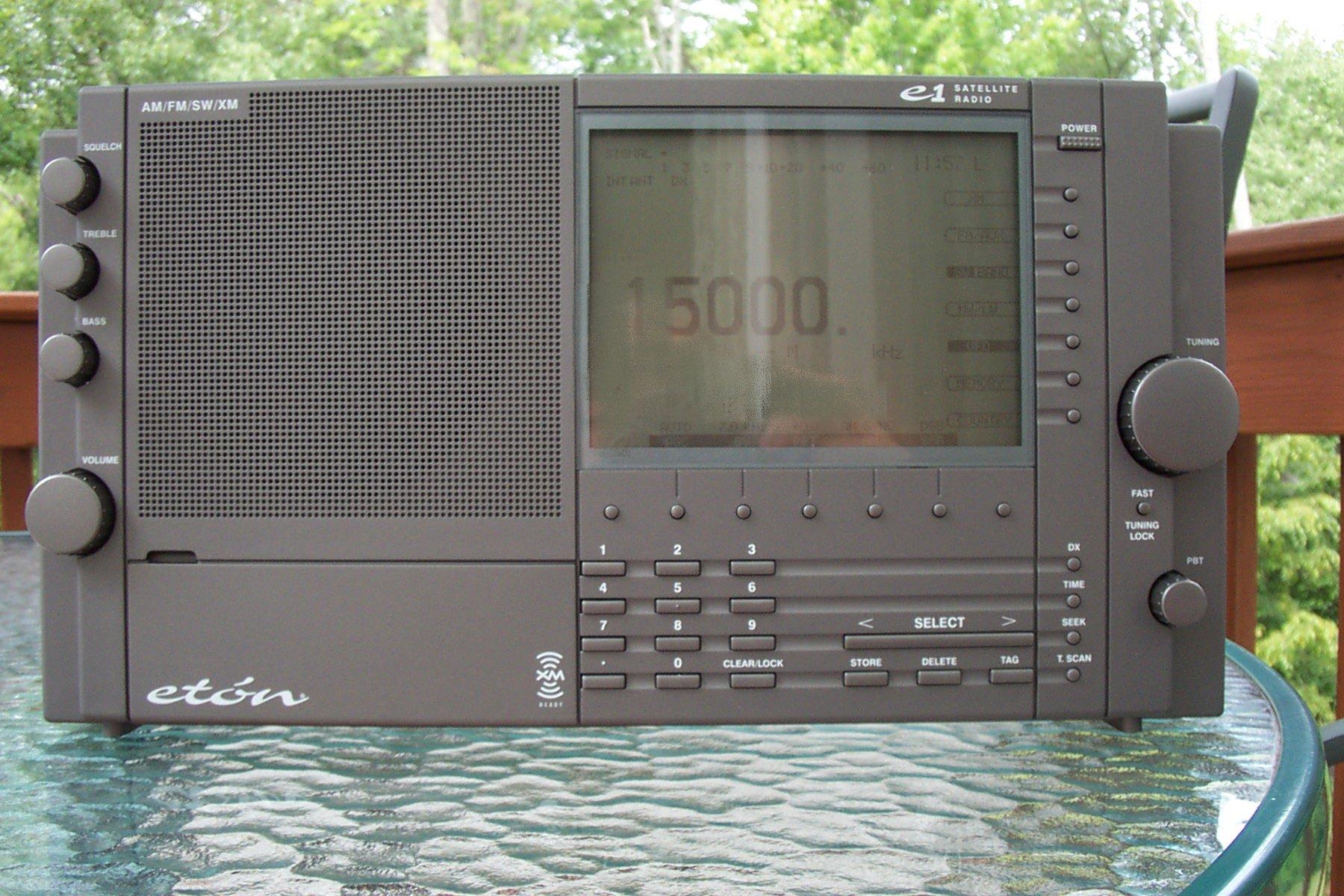 Eton E1/E1XM | radiojayallen