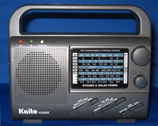 Kaito KA-009 Emergency Radio | radiojayallen