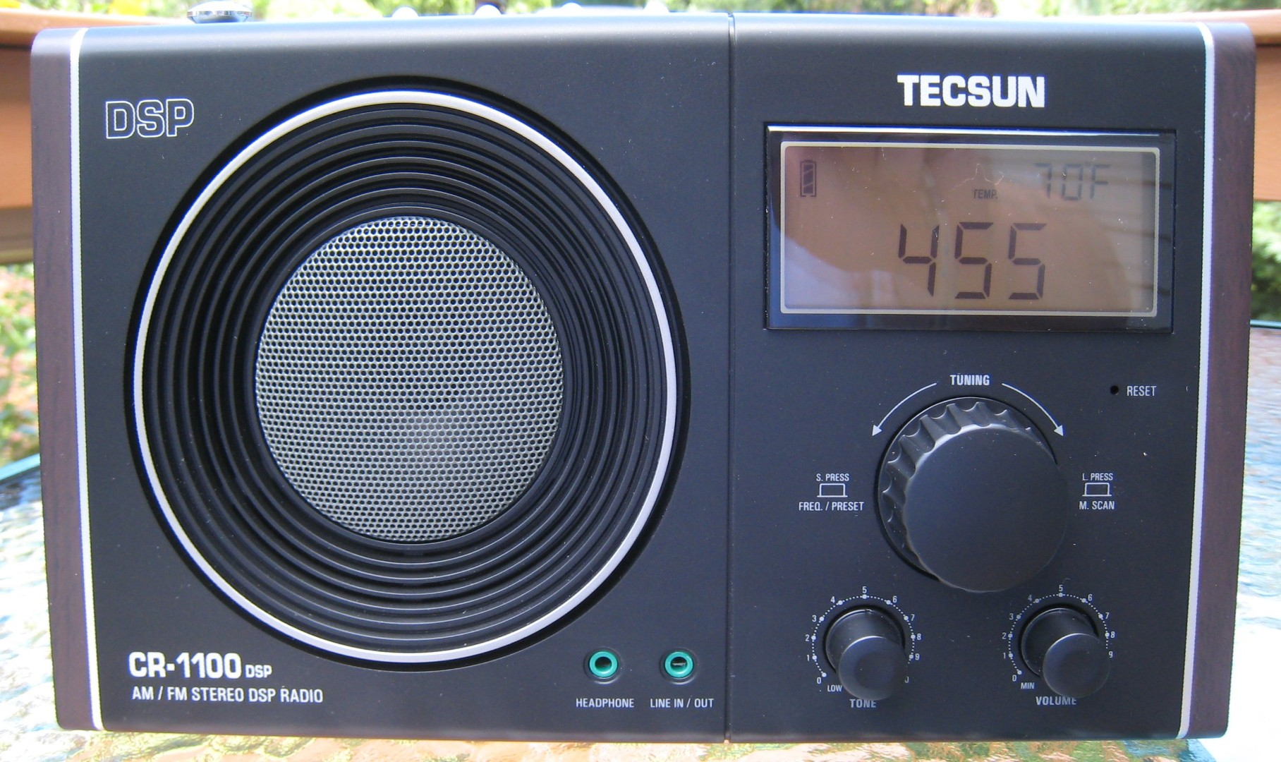 Two Inexpensive AM/FM Portables: Sony ICF-38, Tecsun CR-1100