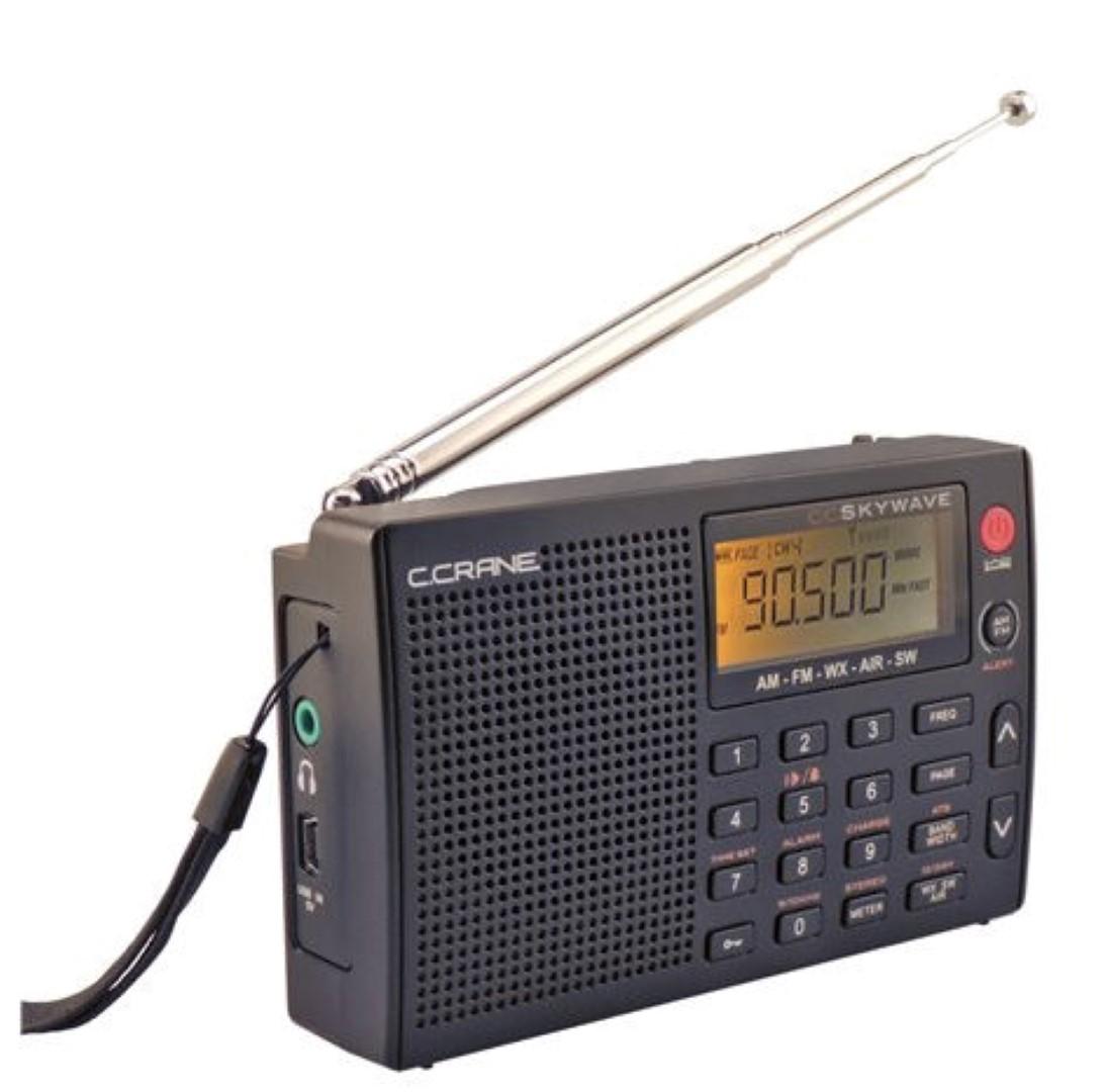 Small Internet Radio in a Small Portable Radio