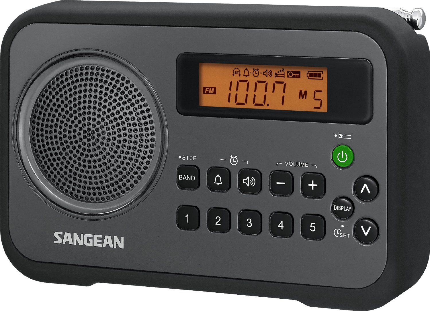 sangean pr d18 dsp am fm digital portable radio. Black Bedroom Furniture Sets. Home Design Ideas