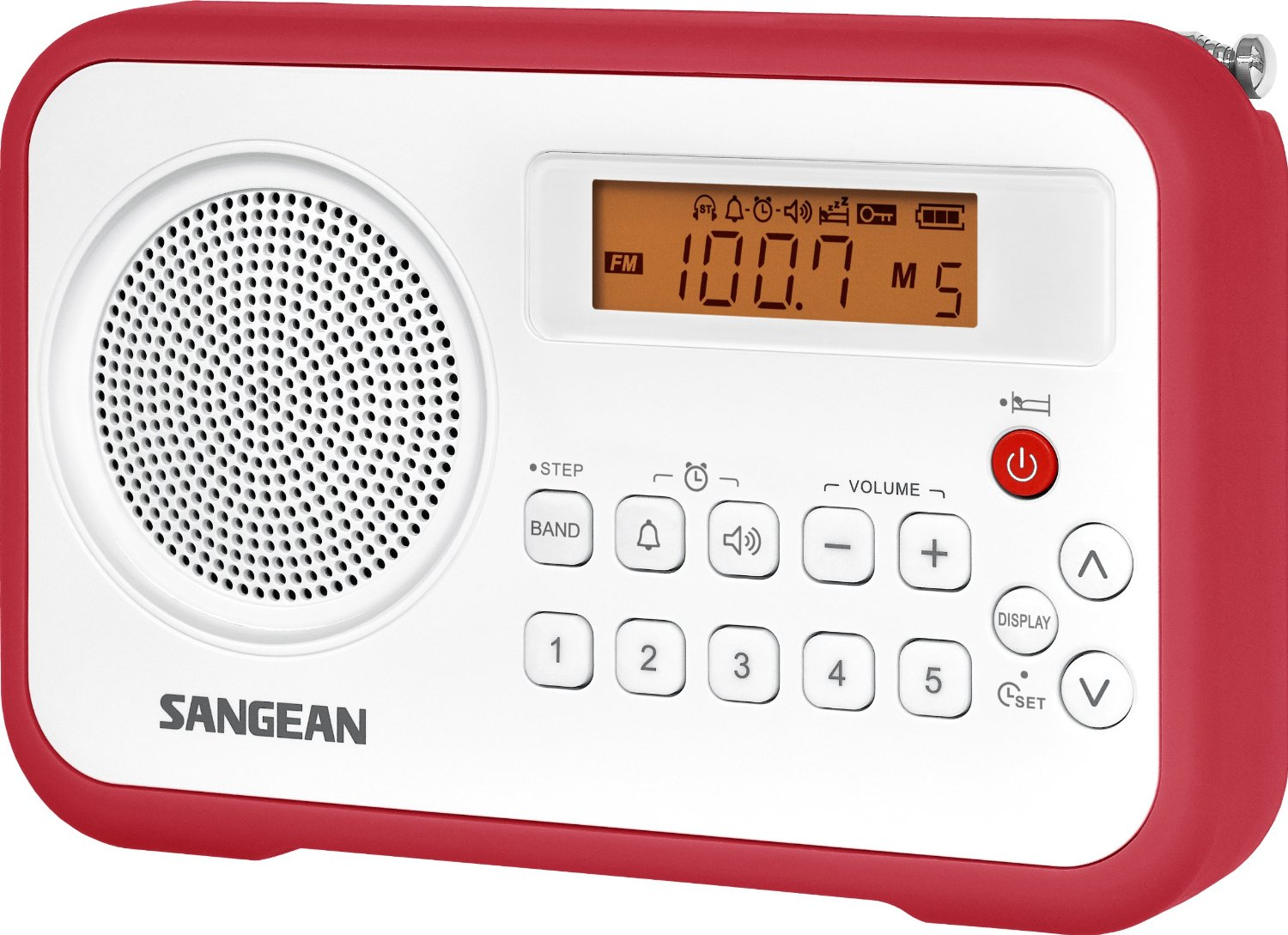 sangean pr d18 dsp am fm digital portable radio radiojayallen. Black Bedroom Furniture Sets. Home Design Ideas