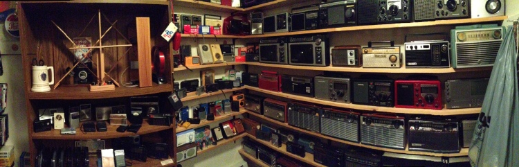 Click For Panaromic View Of The Radio Closet