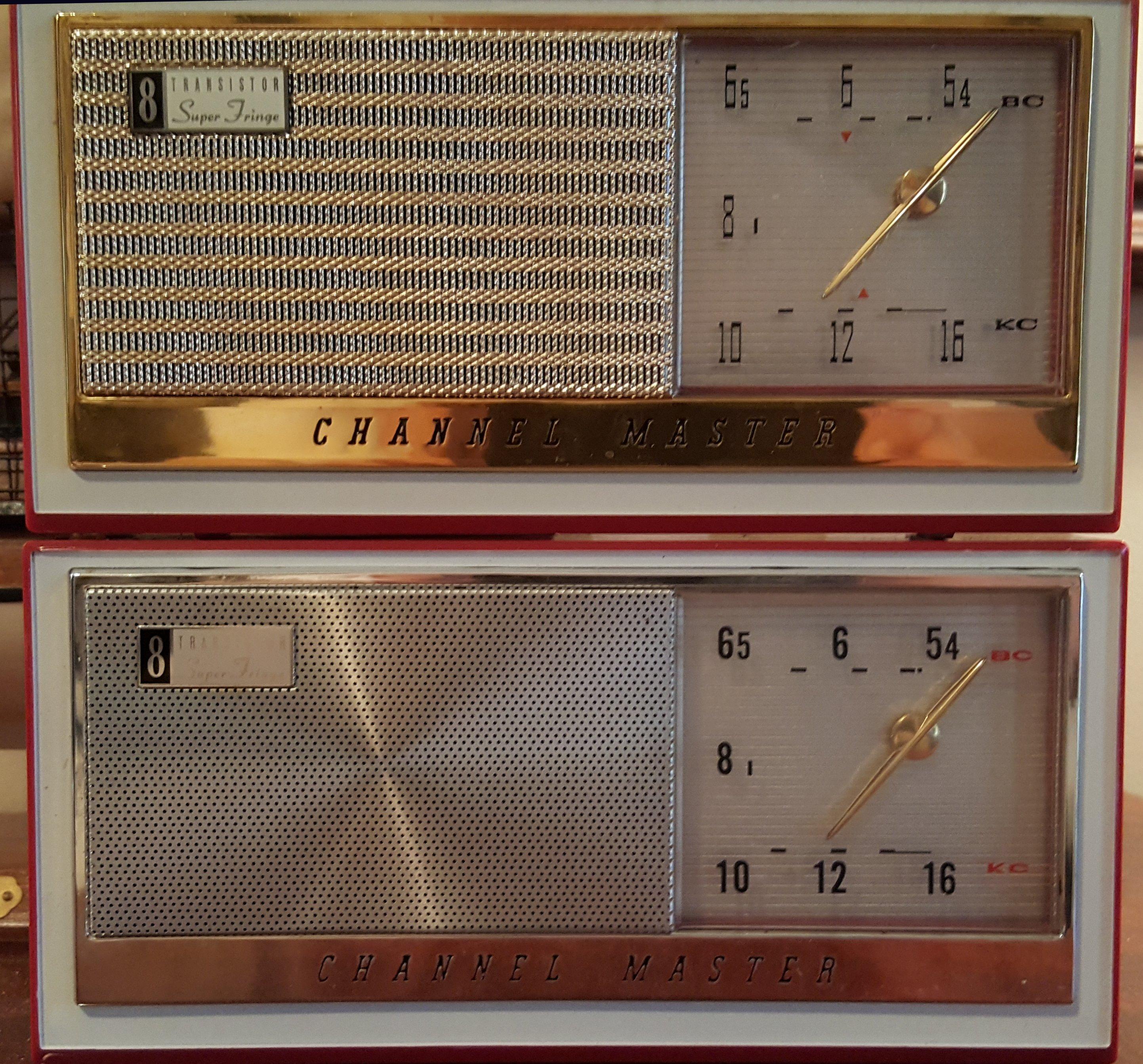"""Channel Master 6515 """"Super Fringe"""" AM radio   radiojayallen"""
